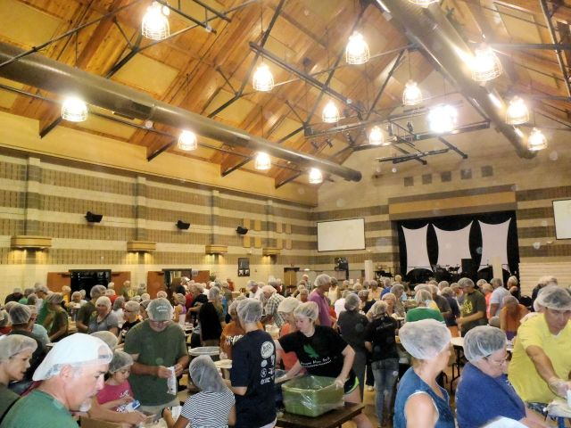 Packing 100,000 Meals for Feed My Starving Children