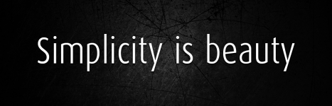 SIMPLICITY IS BEAUTY – Hayeesha